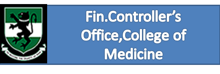 Fin.Controller's Office,College of Medicine